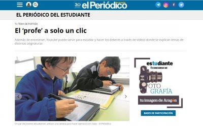 Reportaje | Formación online (En El Periódico de Aragón)