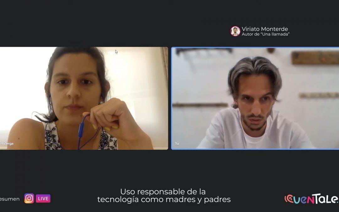 Tertulia | Uso responsable de tecnología por parte de madres y padres